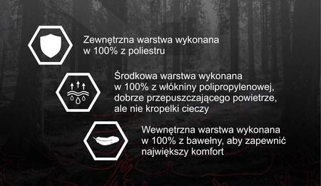 Maseczka ochronna 3-warstwowa SIGN (3)