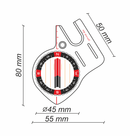 Kompas SIGN-S4 Pro Czarny (3)