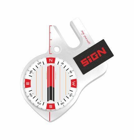 Kompas SIGN-S4 Pro Biały (2)